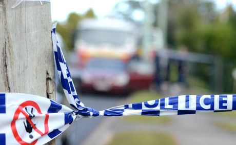 A Jandowae man is in a critical condition after allegedly being struck with a metal pipe last night.