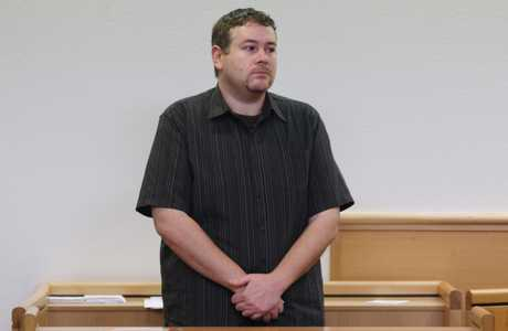 Cameron Dunn in Tauranga District Court.