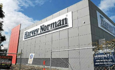 The new Harvey Norman development on Maroochydore Rd. 