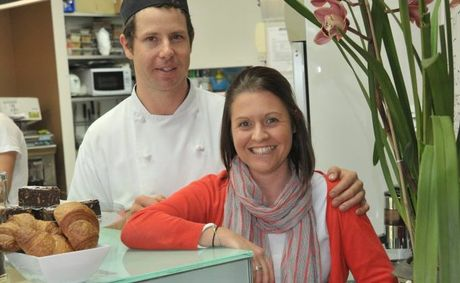 Angus and Brooke Schmidt of Taste This Cafe and Catering at Buderim.