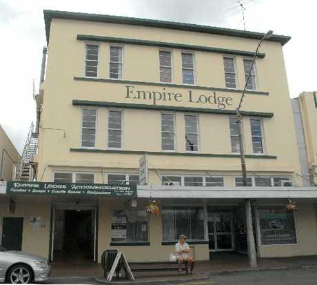 The Empire Lodge on Masterton's Queen St was one of the buildings previously found to be earthquake-prone.