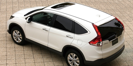 The new Honda CRV sits lower to the ground than previous models, giving a more car-like drive. 