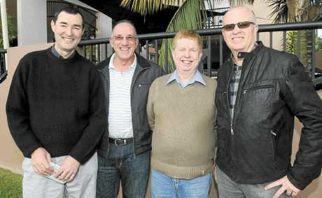 Greg Figg, Alan Pages, Noel Parbery and Wayne Towler of Sydney are backagain for the July Racing Carnival.