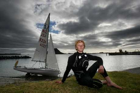 Tauranga yachtie Oscar Rorvik is heading to the 420 world championships in Austria via Italy. Photo / Mark McKeown