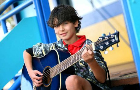 Parkhurst State School student Joshua Kemp, 11, struck all the right chords and won the 2012 The Line – Rap4Respect rap competition.