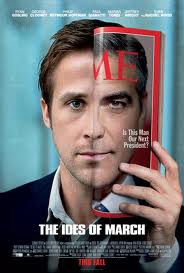 Ryan Gosling stars as political aide Stephen Myers in The Ides of March.