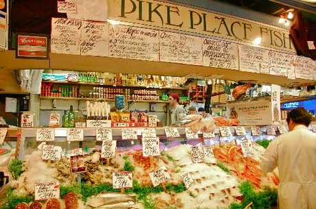 DELICIOUS: Pike Place Market.