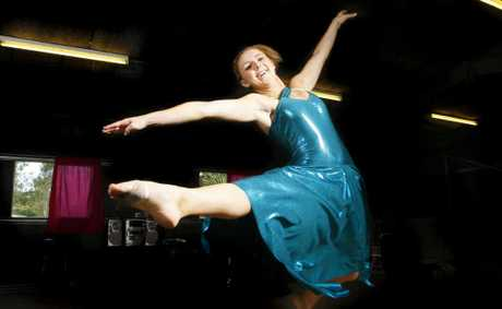Tara Lowe sang, danced and acted as part of Australia's entry into the World Championships of Performing Arts last week. Photo: File
