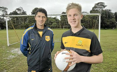 Jordan Thurtell (R) is set for a stellar career says goalkeeping coach John Gorza.