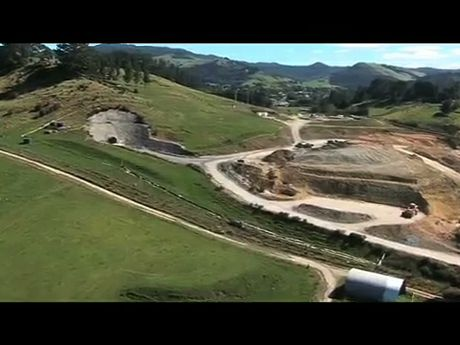 It is believed the fire in Waihi mine was caused by a split pipe.