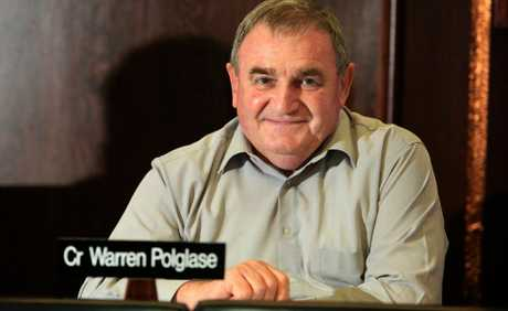 Cr Warren Polglase wants to divert future spending to roads.