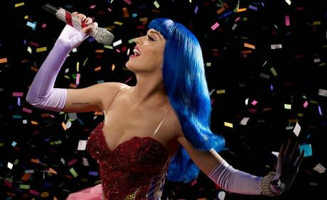 Katy Perry in a scene from her 3D movie Katy Perry: Part of Me.