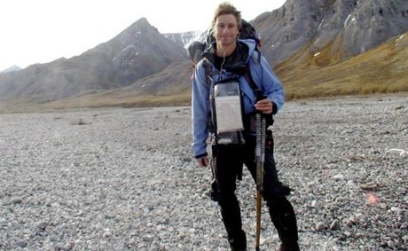 Sunshine Beach man John Cantor is close to completing a solo 1600km trek across Alaska on foot and by raft.