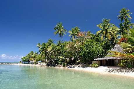 CHANGE PLANS: Travel to destinations like Fiji (pictured) and Rarotonga may have to go on hold as it's been hard to get accommodation recently.