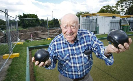 Goodna Bowls Club Chair and founding member Stan Briscoe is excited about their soon to be built club house.