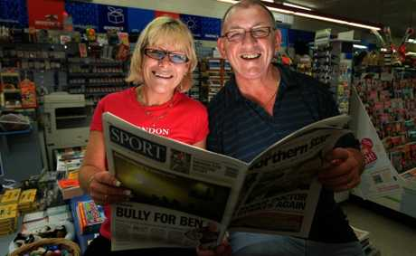 Kingscliff business owners Linda Clarke and Greg Jackwitz hope to become an important part of the local community.