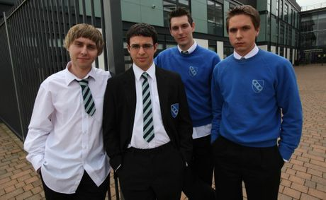 UK version of The Inbetweeners.