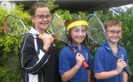 QUEENSLAND REP: Moura 12-year-old Jace Mallet has been selected to represent Queensland at the Australian Junior Championships but her siblings Paige, 10, and Daley, 9 aren't far behind. Photo Contributed
