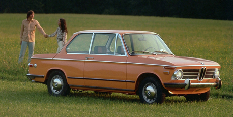 The 1966 BMW 1802 has wonderfully direct steering, light controls and an air of simple quality