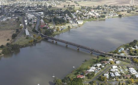 July 2012 Grafton aerials Photo Adam Hourigan / The Daily Examiner