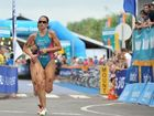 IN the blink of an eye Woolgoolga triathlete Emma Moffatt went from being a medal contender in the Olympics to a supporter of her Australian teammates.