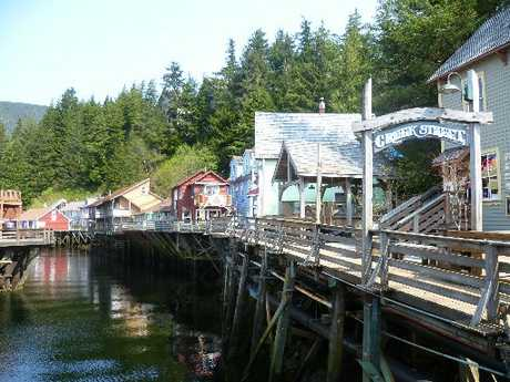 TASTE OF NATURE: Creek Street, Ketchikan.