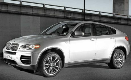 BMW's refreshed X6 range starts from $121,000.