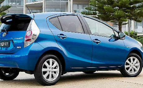 While green, the Prius C doesn't shout its environmental credentials with a gawky exterior.