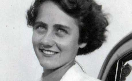 Maurine Allport in her younger years.