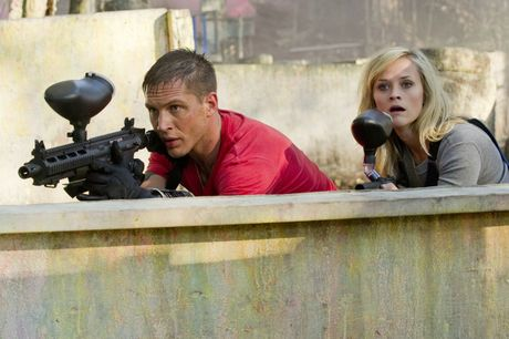 Tom Hardy and Reese Witherspoon star in This Means War.