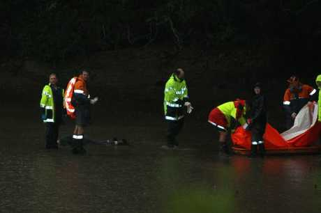 Colin Walter Hodges, 78, was found in the estuary below Waireka Place, Moana Point, late yesterday afternoon by police Search and Rescue teams. Photo / Lesley Staniland
