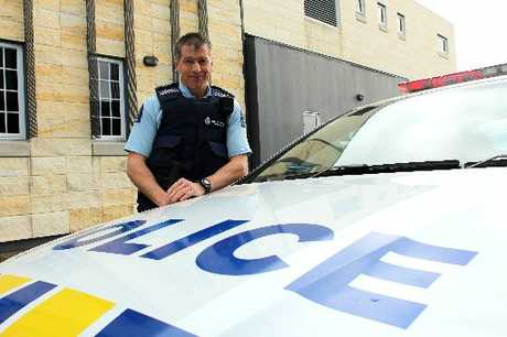 CONCERN: Oamaru Highway Patrol Sergeant Peter Muldrew. PHOTO/FILE