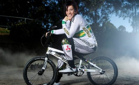 Australian BMX rider Caroline Buchanan