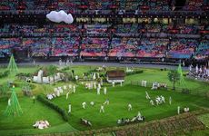 London Olympic Opening Ceremony.