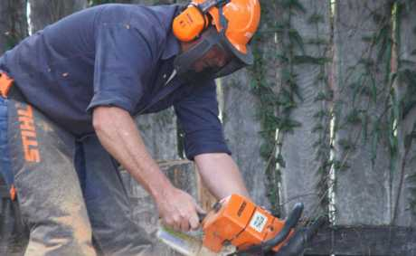 CHAINSAW SAFETY: Proper training is vital.