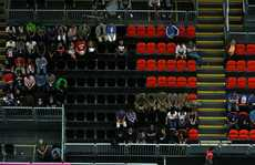 The problem of empty seats continues to plague the London Olympics.