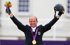 Michael Jung has won gold in a dramatic individual eventing at the London Olympics.