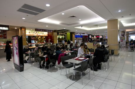 The Downtown Shopping Centre food court could become more upmarket if plans for a highrise proceed.