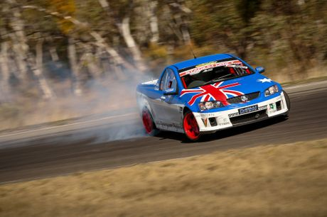 18-year-old driver Nick 'Driftkid' Coulson is preparing for the International Drift Challenge in Eastern Creek next Friday.