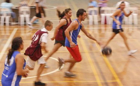 The Midnight Basketball Program is held at the Grafton Regional Sports Centre.