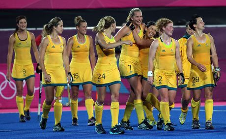 The Hockeyroos play China on Friday night.