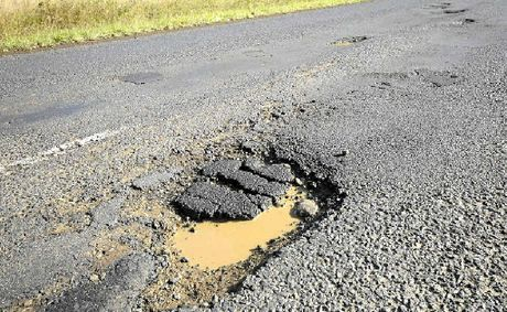 Potholes can cause plenty of damage to cars.
