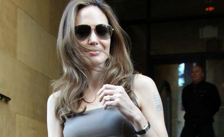 Angelina Jolie wants a role in 50 Shades of Grey.