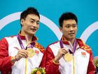 Qin Kai and Luo Yutong have won gold in the diving.