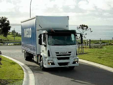 COMFORTABLE: Eurocargo lines are very smooth with high-quality paint and panel fit.