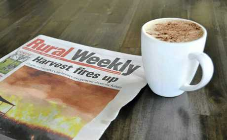 CAFE CHALLENGE: Readers are being encouraged to ask their favourite cafes to stock the Rural Weekly to catch up with local rural news.