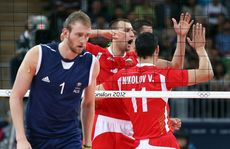 Australia lost to Bulgaria in three sets at the 2012 London Olympics.