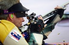 Warren Potent has been knocked out of the 50 metre prone rifle competition.