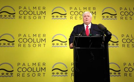 Clive Palmer will be making a 'major announcement' next week.