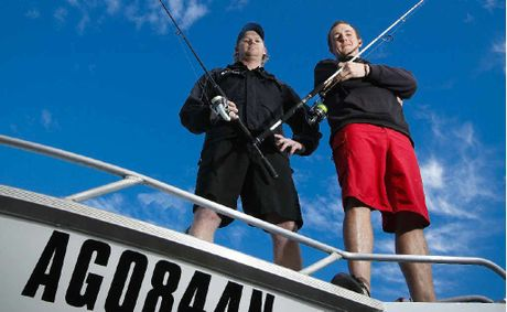Reigning Wooli Snapper Challenge titleholders Jay Cochrane and Daniel Saye can't wait to have another crack at the rich tournament.